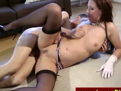 Euro mature in stockings gets fucked