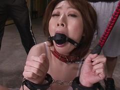 japanese milf on leash made alongside suck locate
