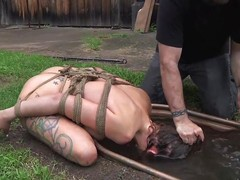 water agony for a injurious slut