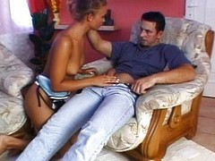 Sexy European fucked upon all holes