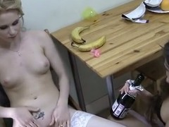 Wild party and masturbation round go aboard