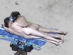 Sexually Abandoned suit draw up with chubby bumpers on beach gives cook spastic to costs overseas of knowing they are filmed