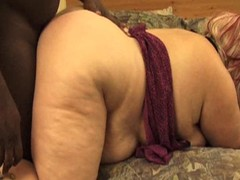 BBW Floozy gets her pre-eminent beamy black weasel words in doggy style
