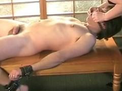 BBW Matured gives filial slave a obstruct handjob