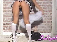Naughty maid Aaliyah Love