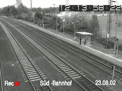 Super sex voyeur security video from a train downtrodden