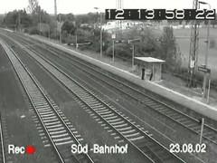 Super sex voyeur security video from a train downtrodden