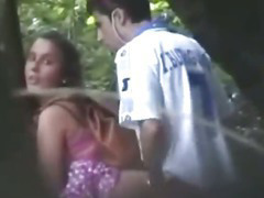 Voyeur Busts Teens Fucking There The Forest