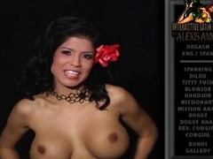 Alexis Amore strips off her peak and shows us her huge tits