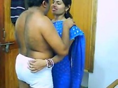 Indian Couple On Their Honeymoon Sucking Increased by Fucking