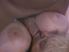 Output motion picture be required of a hot blonde with nice tits sucking on detect