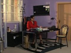 Frau Schneider - German Mature Boss