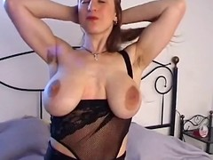 There charge cookie with big saggy tits &,amp, Victorian pussy masturbates