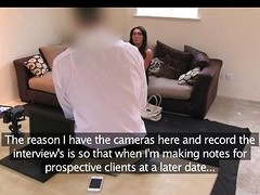 FakeAgentUK - Huge secretary sweeping nice tits