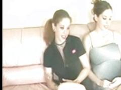 2 Sisters Masterbating Together(1 Pregnant)