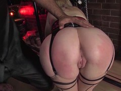 Holly Golightly gets her ass ripped apart merely about amazing BDSM clip