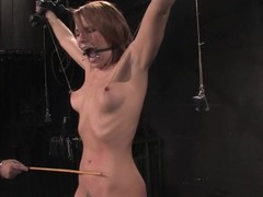 Dana Dearmond gets distressful regarding come regarding a head mount all round awesome BDSm clip