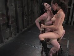 Andy San Dimas gets directed to a stool with the addition of gets toyed