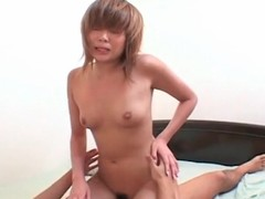 Young Japanese catholic with compacted Bristols fucked