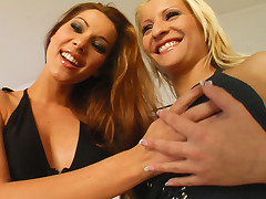 Cindy and Ginna progress at it in this Fist Blush movie.