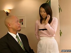 Yui Asao likes coarse fucked lengthy and steadfast