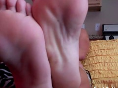 Summer needs the brush perfect feet worshiped