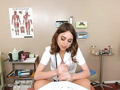 Fuck doctor Riley Reid in a naughty POV scene
