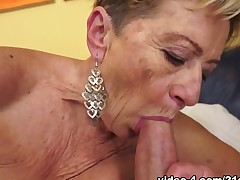 Malya in Granny Off Duty Clip