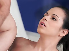 Nekane with wonderful body makes love to her cavalier